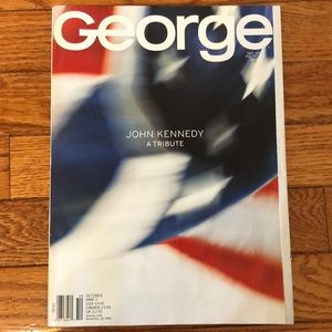 George Magazine October '99 John Kennedy A Tribute